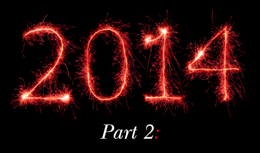 2014...The Year That Was: Part 2