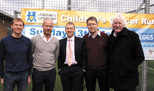 Shearer Secures Maximum Exposure for Cancer Run Launch