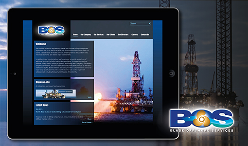 New website for Blade Offshore