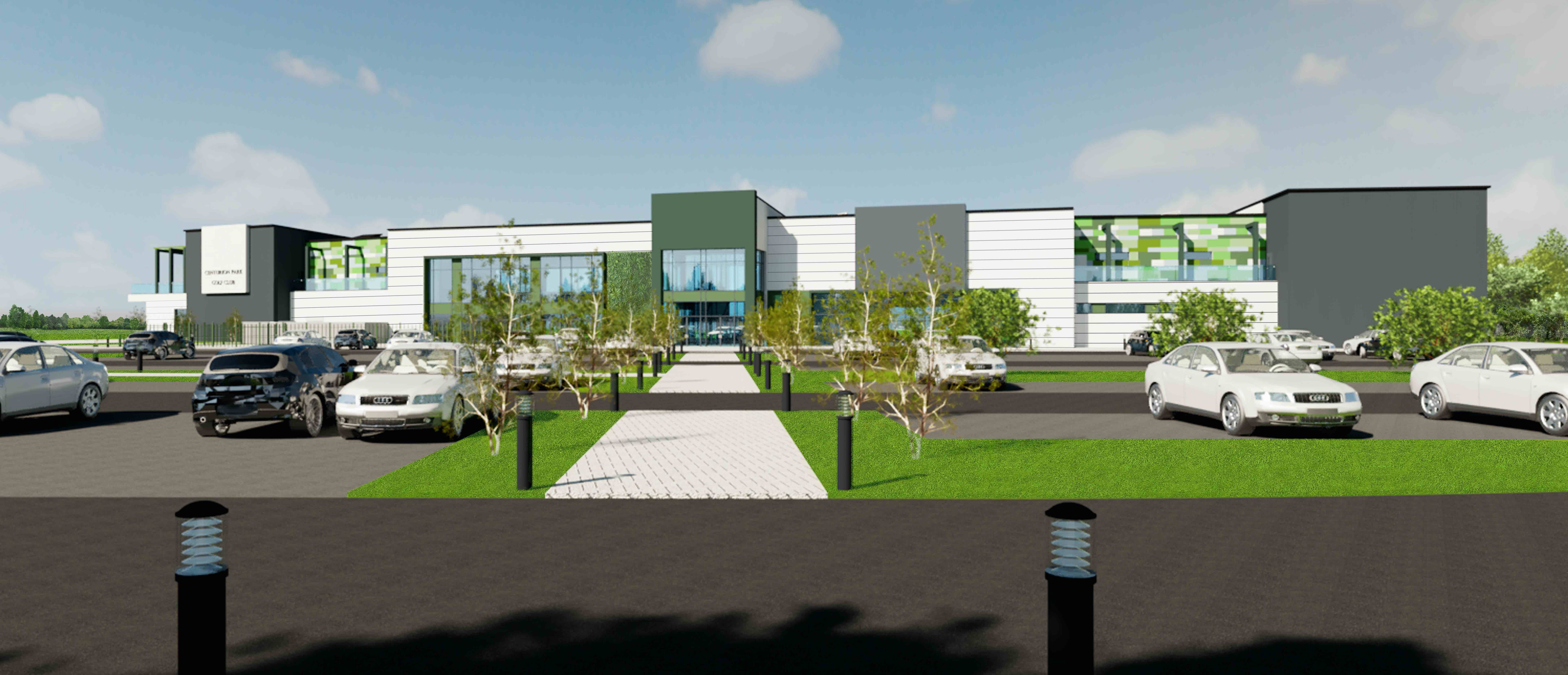PLANNING APPLICATION FOR £13m WALLSEND GOLF CENTRE