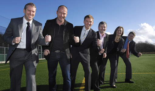 Local Legend Alan Shearer Helps Silver Bullet  Launch Children's Cancer Run