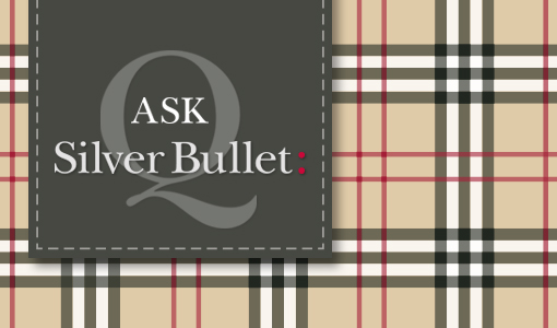 burberry, brand dilution, tartan, ask sb, ask, silver bullet, question, checks, brand, luxury brand