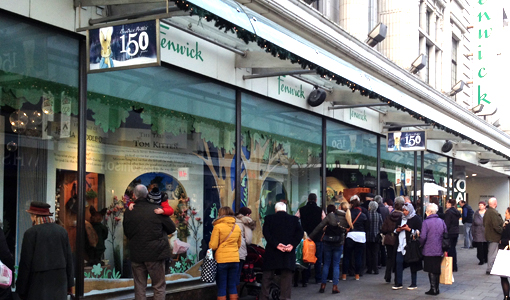 If Christmas shopping is going increasingly online, why do shops like Fenwicks invest so much in their Christmas windows?